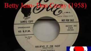 Don Covay- Betty Jean (1958)