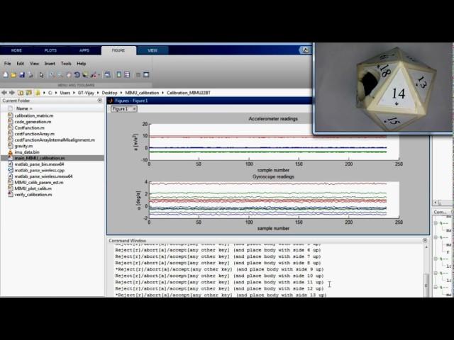 Osmium MIMU22BT & MIMU22BTP: Wireless Calibration