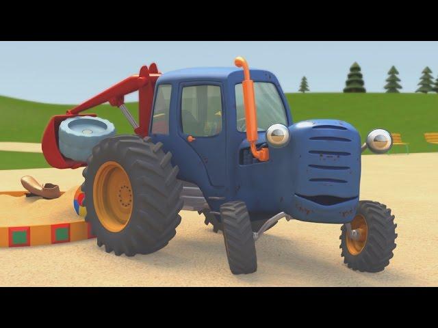 Синий трактор представляет мультики все серии подряд. Смотреть онлайн.