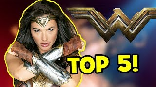 5 AMAZING Facts About WONDER WOMAN