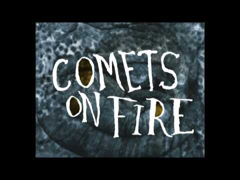 Comets On Fire - Whiskey River online metal music video by COMETS ON FIRE