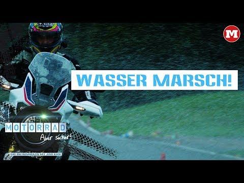 Wasser marsch! – Motorrad: Aber sicher! – Das Magazin mit Jens Kuck