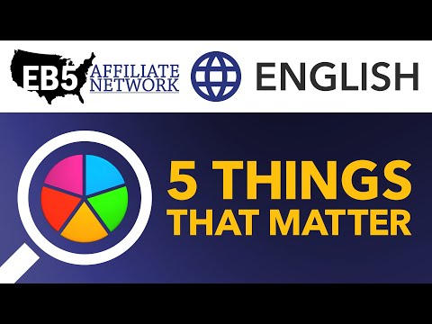 5 Things That Matter – EB-5 Project Investment Framework
