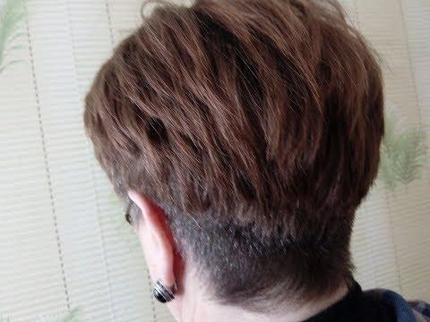 Короткая женская стрижка с пышной макушкой