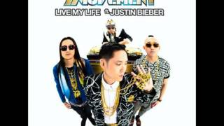 Justin Bieber ft. Far East Movement - Live My Life [HQ] AUDIO