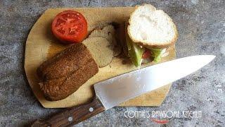 SEITAN ROLL For  Cold Cuts ...VEGAN Deli Sandwich Meat