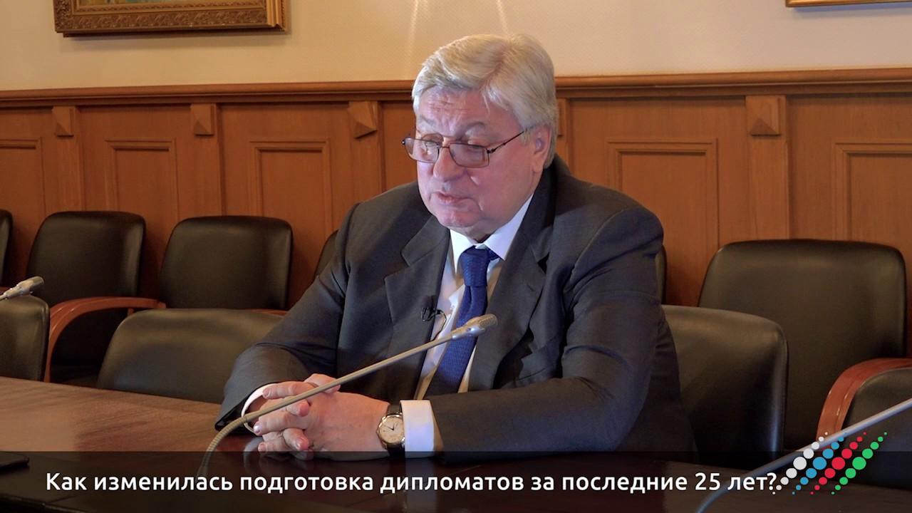 Анатолий Торкунов отвечает на вопросы «Москва-Баку»