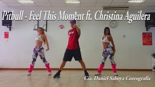 Pitbull Feat. Christina Aguilera - Feel This Moment Cia. Daniel Saboya (Coreografia)