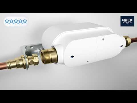 How to install GROHE Sense Guard