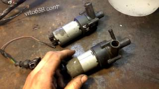 Как проверить тосольную электропомпу Bosch