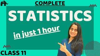 Statistics Class 11 Maths   in Hindi