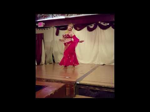 Fan veils belly dance.