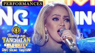 "Tawag ng Tanghalan Celebrity Champion grand finalist Ethel Booba performs Nonoy Zuñiga's ""Never Ever Say Goodbye.""  Subscribe to ABS-CBN Entertainment channel! - http://bit.ly/ABS-CBNEntertainment  Watch your favorite Kapamilya shows LIVE! Book your tickets now at http://bit.ly/KTX-ShowtimeXP  Watch the full episodes of It's Showtime on TFC.TV  http://bit.ly/ItsShowtime-TFCTV and on iWant for Philippine viewers, click: http://bit.ly/ItsShowtimeiWant  Visit our official website!  https://entertainment.abs-cbn.com/tv/shows/tawagngtanghalan/main http://www.push.com.ph  Facebook: http://www.facebook.com/ABSCBNnetwork Twitter: https://twitter.com/ABSCBN  Instagram: http://instagram.com/abscbn  #ItsShowtime #TNTCelebsGrandChampion #TawagNgTanghalan"