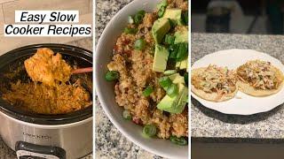 Dump & Go Crock Pot Meals! EASY VEGAN Slow Cooker Recipes!
