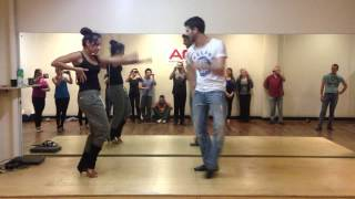 Advanced Salsa Move #103 - The Groove it Out