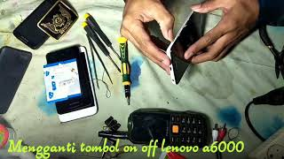 Lenovo A2010,A606,A1000 on off Key Not Work Solution - hmong video