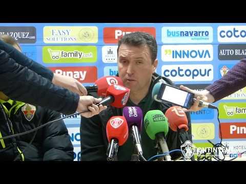 Roda de premsa de Josico Moreno: Ontinyent CF 1 - Elche CF 0