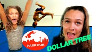 😁 DANGEROUS FLIPS AT THE GYM?? 😁TESTING DOLLAR STORE GAME PRODUCTS!! FAMILY GAME NIGHT!!