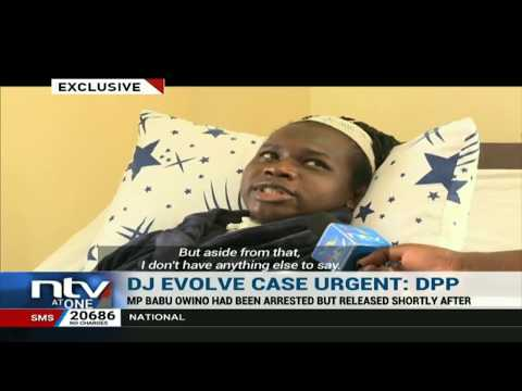 DJ Evolve: DPP issues statement on Babu Owino's case