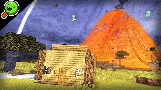 Minecraft, but every 5 minutes there's a natural disaster