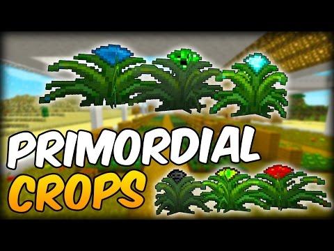 MOD DE CULTIVOS COMO DIAMANTE, CERDO O TINTES: Primordial Crops - Minecraft Mod 1.10.2/1.9.4