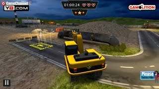 Heavy Excavator 3D Parking, Heavy Vehicles Driver Games, Gameplay Video