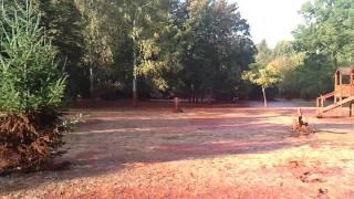 preview picture of video 'Devecser, Kastélypark játszótér az iszapkatasztrófa után - HD'