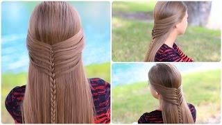 Mermaid Half Braid Tutorial | Cute Hairstyles