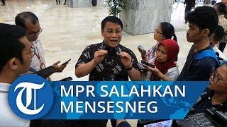 Wakil Ketua MPR Ahmad Basarah Anggap Mensesneg Kurang Komunikatif