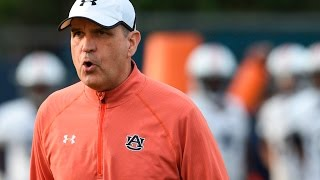 Auburn defensive coordinator Kevin Steele talks spring defense
