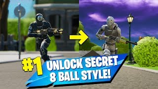 8 BALL V/S SCRATCH - How to unlock 8 Ball Additional Style - Fortnite Chapter 2