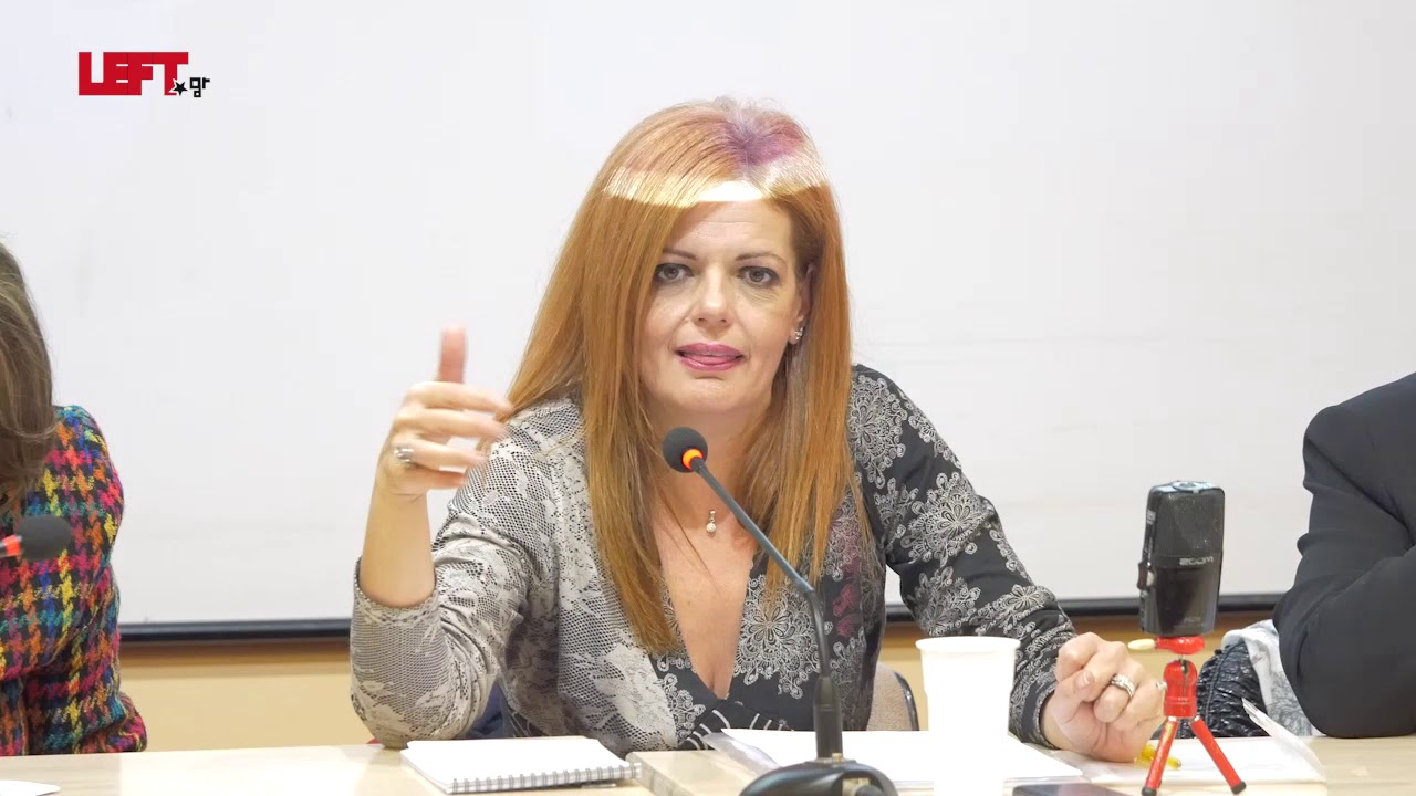 Tο δικαίωμα των γυναικών σε μια ζωή χωρίς βία – Μαρία Γιαννακάκη