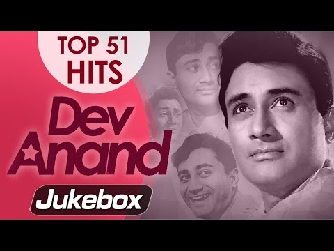 Dev Anand Best 51 Songs Video JUKEBOX (HD) - Evergreen Old Hindi Songs