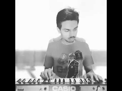 Mere Naam tu piano cover Rajat Shroff
