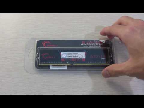 GSkill Aegis DDR4 RAM Quick Look
