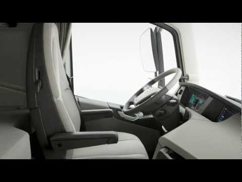 2018 volvo fh interior details video review at for Camion americain interieur cabine