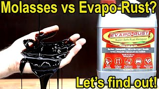 Is Molasses better than Evapo-Rust for rust removal? Let's find out!