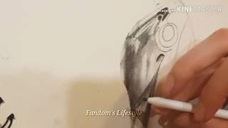 Drawing Alita-Battle Angel ||Fandoms Lifestyle