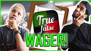 TRUE OR FALSE QUIZ WAGER! - MUT Wars Ep.84 | Madden 17 Ultimate Team