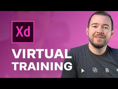 Free Adobe XD Virtual Training for Teams - YouTube