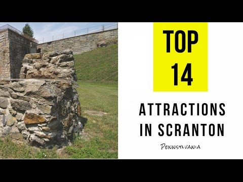 Video Top 14. Tourist Attractions & Things to Do in Scranton, Pennsylvania
