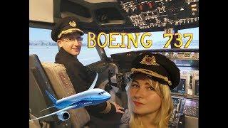 От Австрии до Франции за полчаса / Полный улёт / Авиатренажер Boeing-737