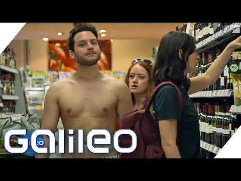 In Badehose in den Supermarkt? Was mache ich, wenn? Sommer-Edition | Galileo | ProSieben