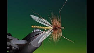 Fly Tying A Deer Hair Daddy Long Legs With Barry Ord Clarke