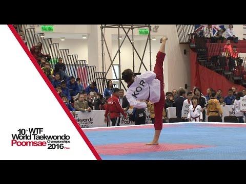 Cadet Individual Female FinalHuiyue ZHANG (CHN) vs Yu-ha KIM (KOR)