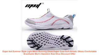 Super hot Summer Style Light Mesh Running ShoesSuper Cool Soft Athleti