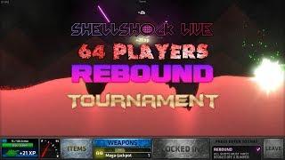 ShellShock Live: 64 Player Rebound Tournament Part 1