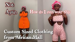 AFRICANMALL BACK FOR REVENGE| CLOTHING HAUL
