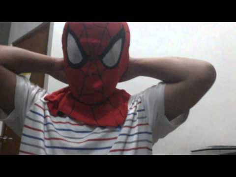 Video Topeng spiderman