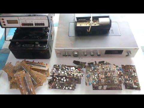 Находки со свалки,км конденсаторы и другие радиодетали.